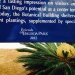 A Friends of Balboa Park sign.
