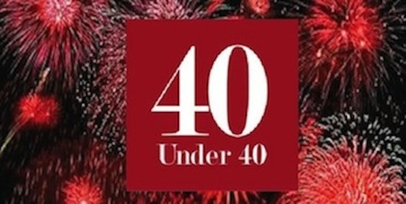 Honoring the 40 Under 40