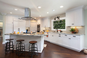 Kitchen in a La Jolla home, designed by Alison Green of Jackson Design & Remodeling.