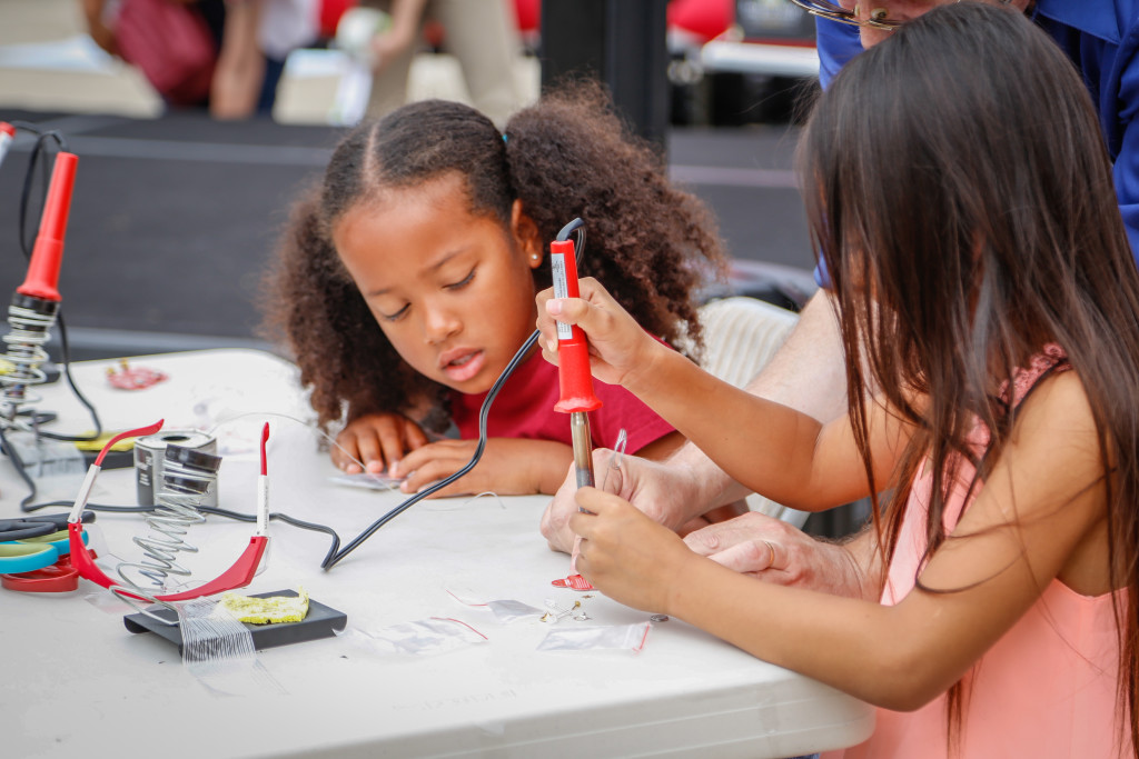 The first Maker Faire was held in May 2006 in the San Francisco Bay Area, launching a movement that is now nationwide.