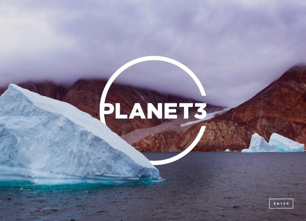 Planet3 website