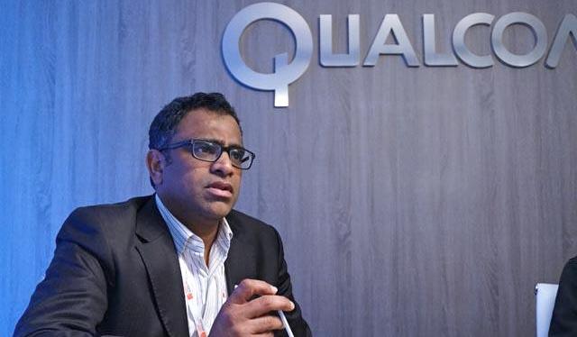 Raj Talluri, senior vice president of product management at Qualcomm