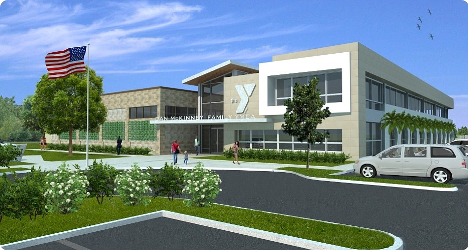 Rendering of La Jolla YMCA  renovation and expansion.