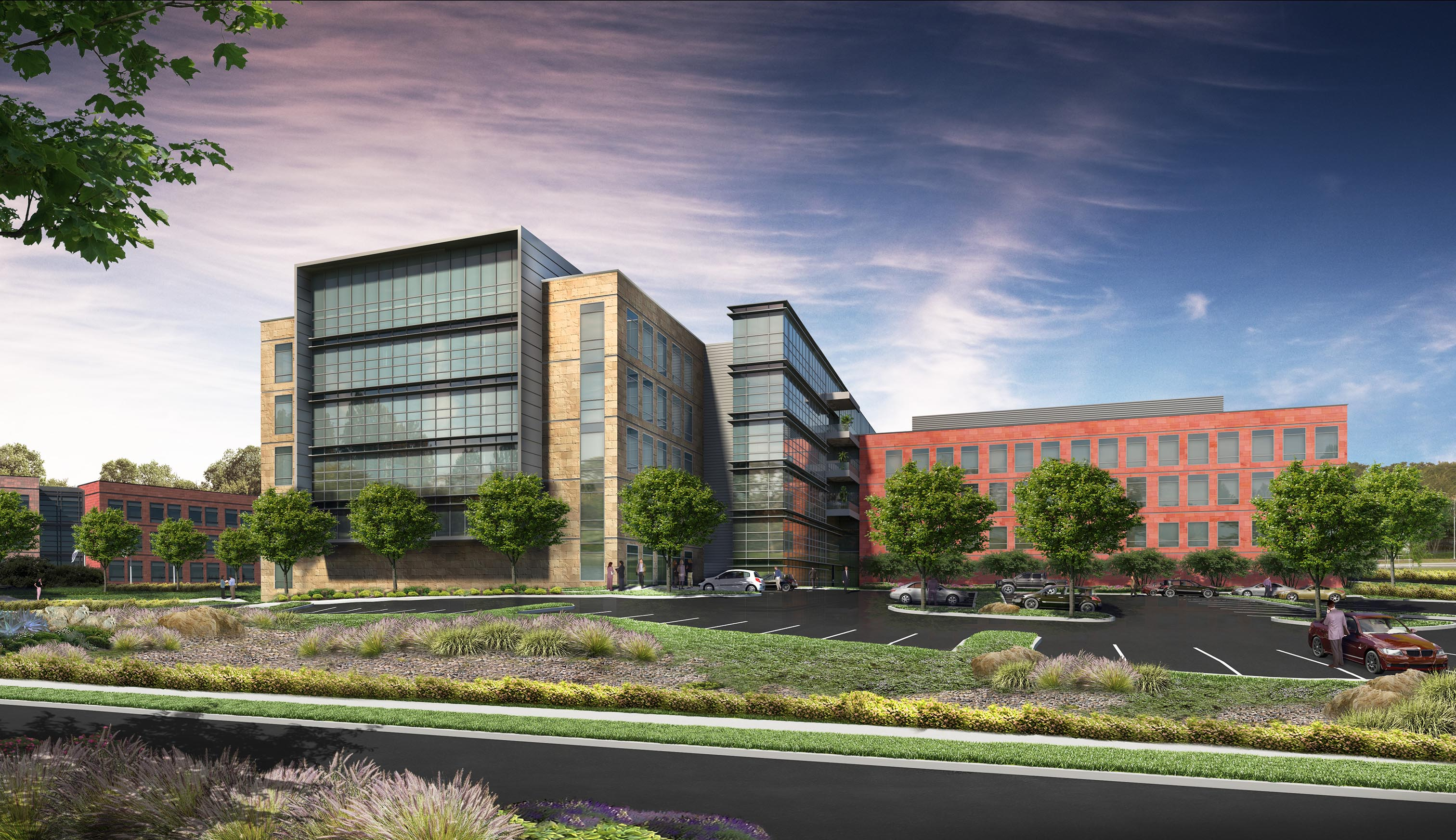 Rendering of Illumina headquarters after expansion.