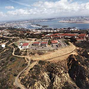 The Naval Health Research Center in Point Loma