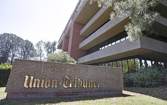 Former Union-Tribune building