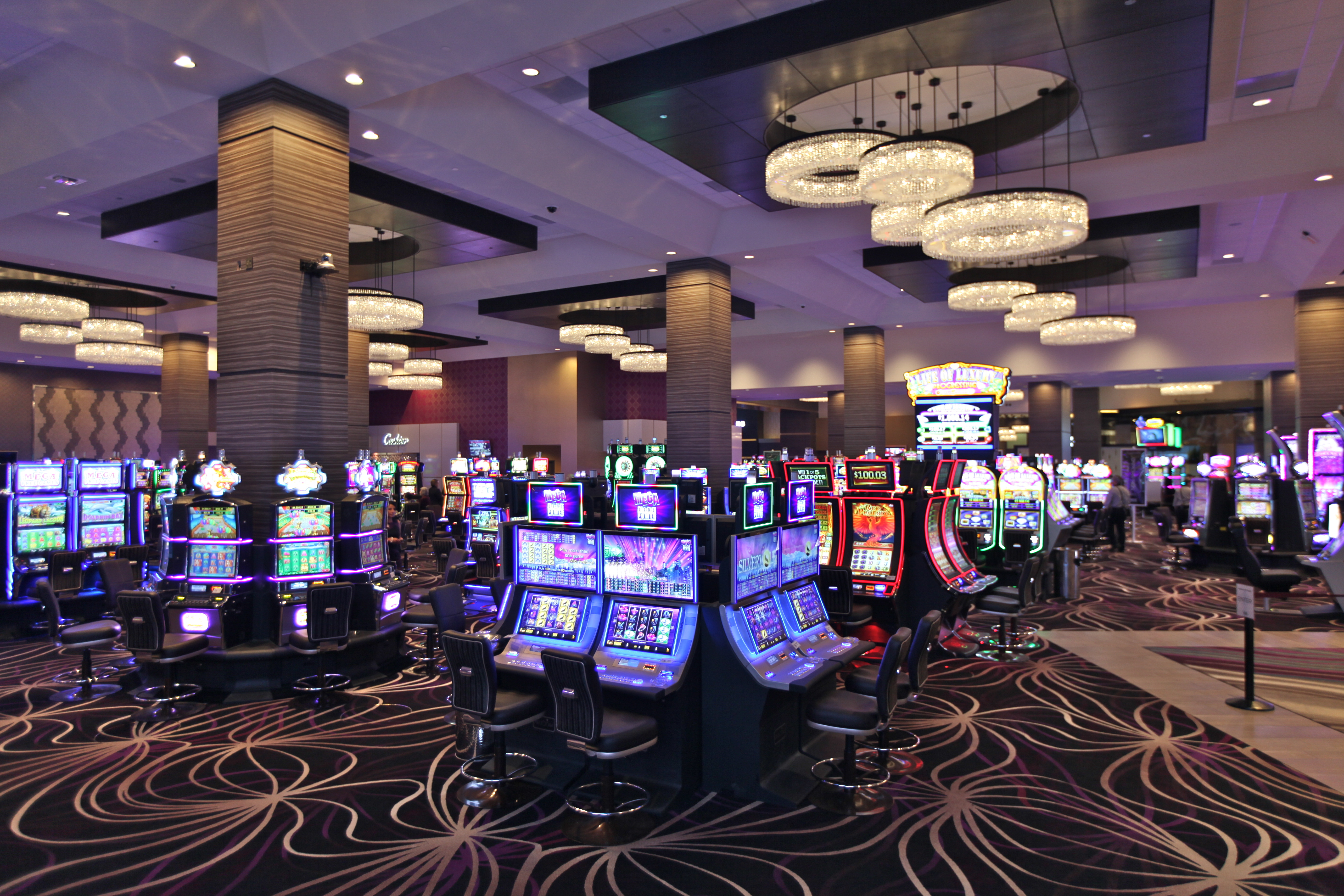 Viejas Casino's new slots