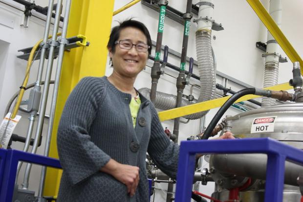 Physicist Dr. Christina Back of General Atomics