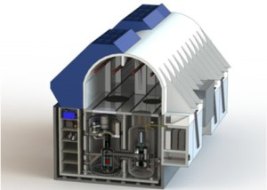 EM2 waste-to-energy fast-gas reactor being developed by General Atomics with unprecedented safety innovations.