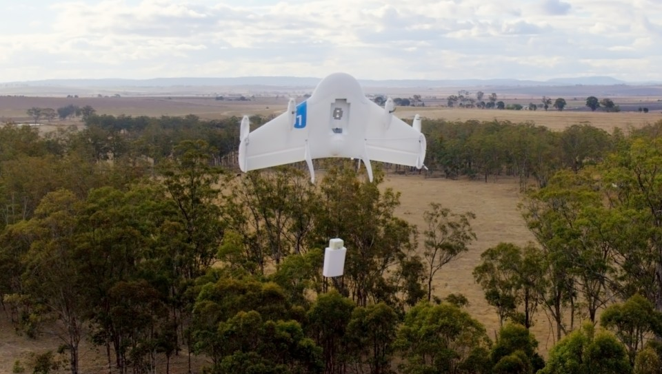Google has tested Project Wing in Australia