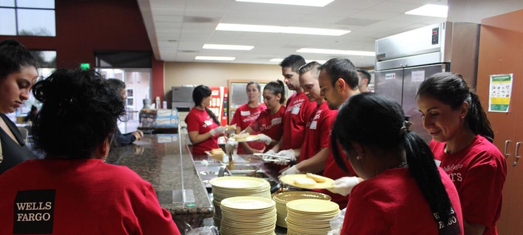 Volunteers at Ronald McDonald House