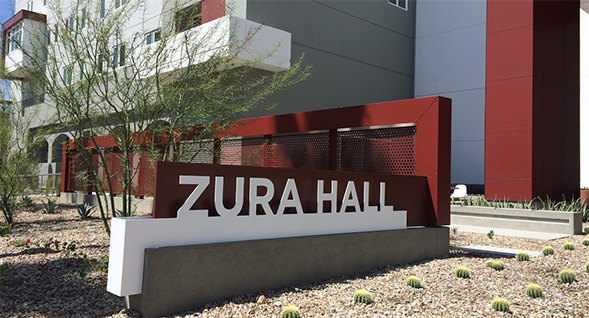 Zura Hall first opened its doors to residents in 1968