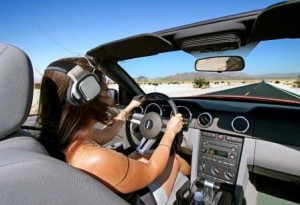 A new law will prevent drivers in California from wearing earbuds or headsets in both ears while on the road.