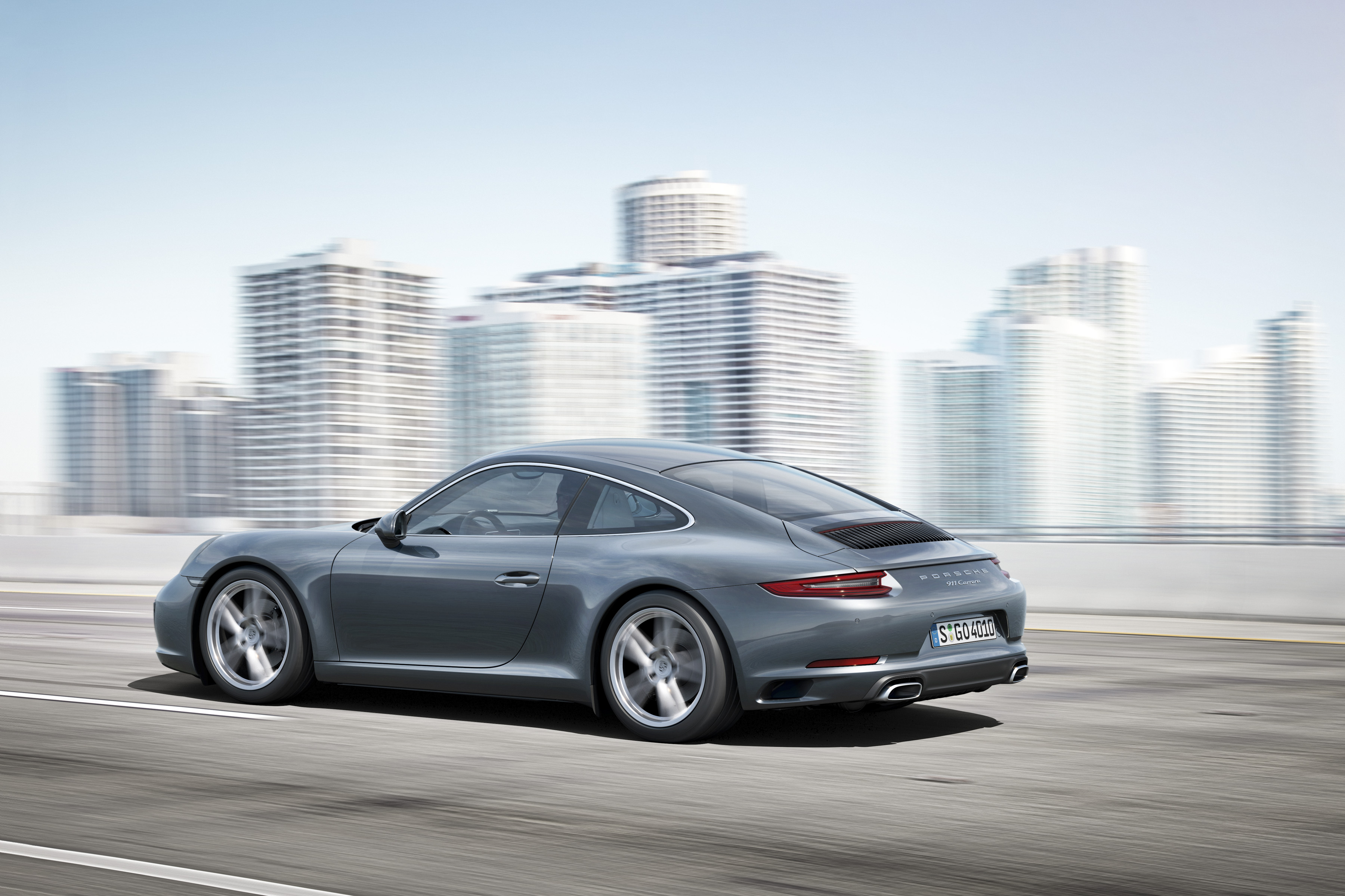 The 2017 Porsche 911 Carrera coupe will be shown at the San Diego Auto Show.