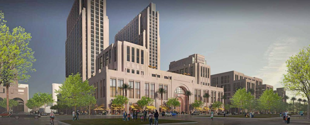 The proposed redevelopment of the Navy Downtown waterfront headquarters