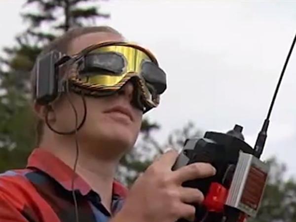 A drone operator