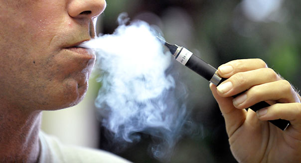 The study shows that e-cigarette vapor is not benign -- at high doses it can directly kill lung cells.