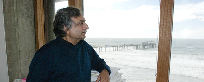 Farooq Azam, professor of microbial oceanography at UC San Diego's Scripps Institution of Oceanography