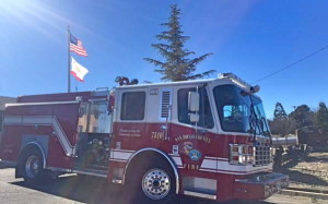 A new County-funded fire paramedic engine will be serving the Julian area.