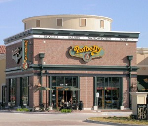 A Potbelly restaurant in Houston.