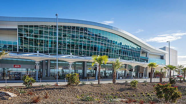The new Rental Car Center. (Photo by Pablo Mason, courtesy of San Diego International Airport)