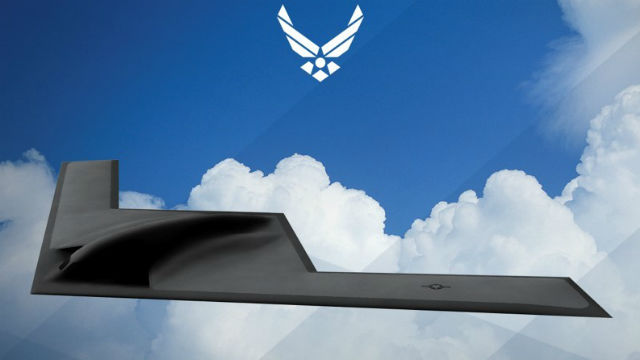 Rendering of the B-21 Bomber (U.S. Air Force)