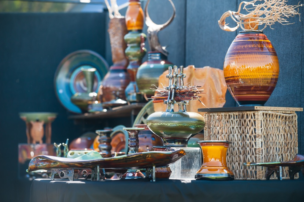 Items from last year's La Jolla Festival of the Arts.