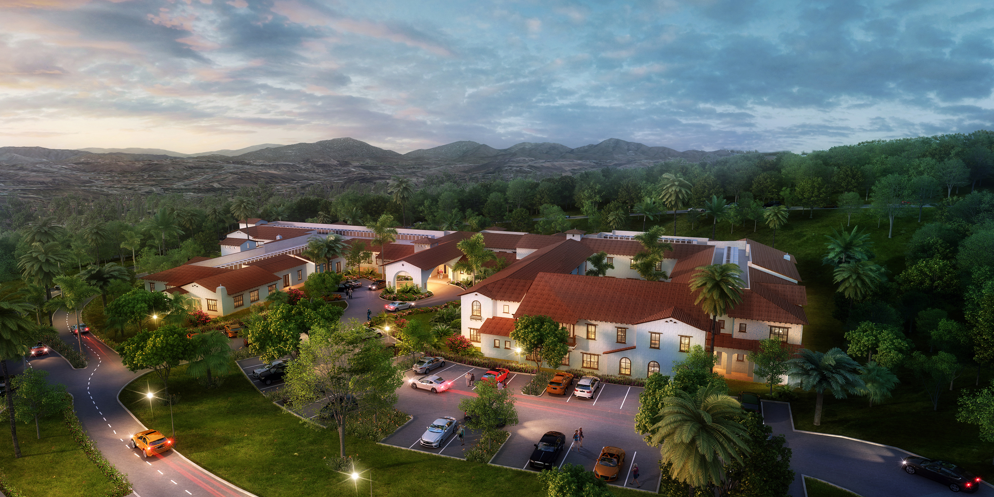 Rendering of The Glenn at Scripps Ranch