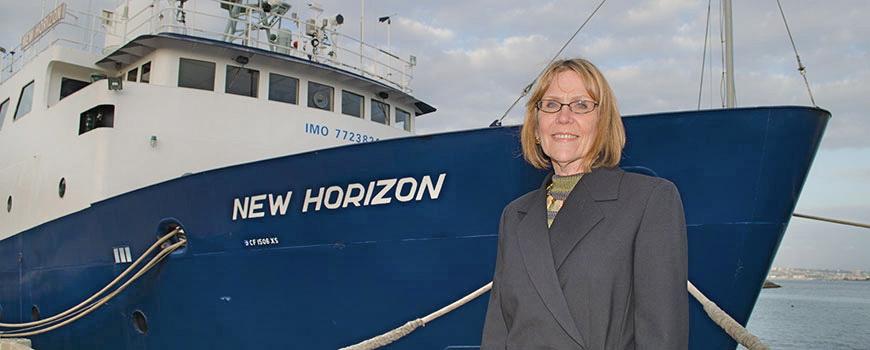 Margaret Leinen, director of Scripps Institution of Oceanography