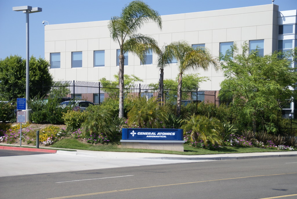 General Atomics Aeronautical headquarters in Poway Business Park