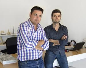 Alberto Garcia Jimenez left, and Ramiro Losada-Amor.
