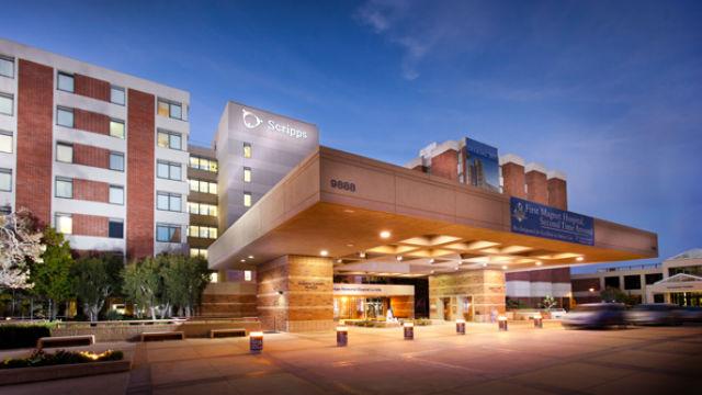 Scripps Memorial Hospital in La Jolla. (Photo courtesy of Scripps Health)