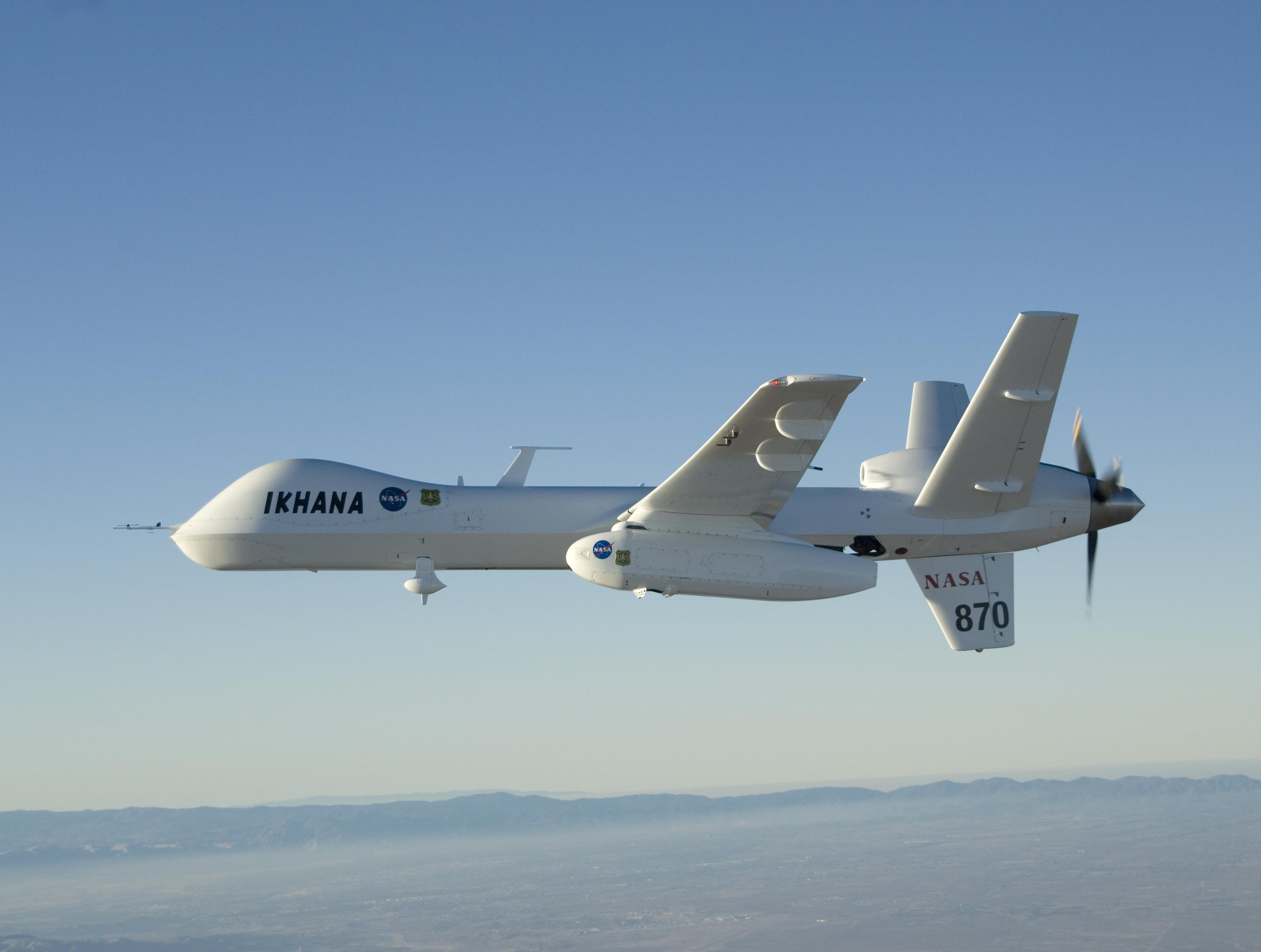 General Atomics' Ikhana UAS (NASA photo)