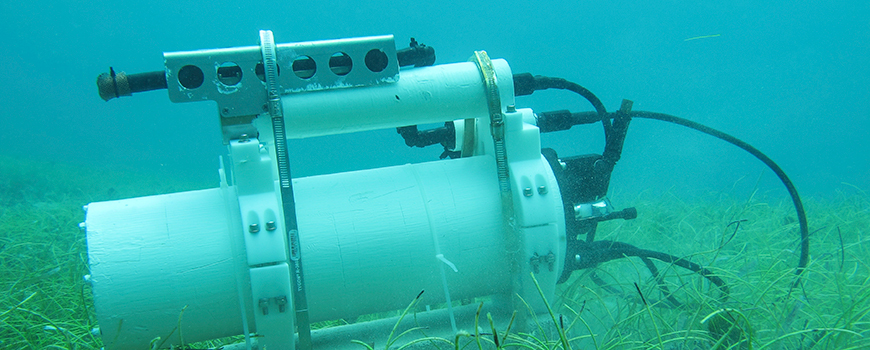 Instruments developed by Scripps scientist Todd Martz observe conditions related to ocean acidification. (Courtesy Scripps Oceanography)
