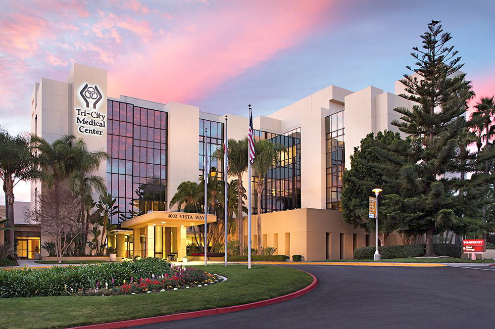 Tri-City Medical Center in Oceanside was the only hospital in North County to receive the A grade.