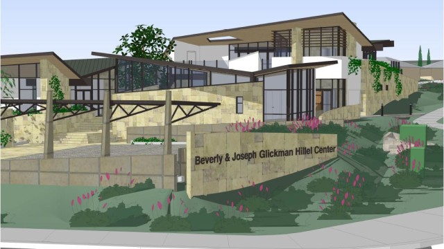 A rendering of the Hillel Center planned near the UC San Diego campus.