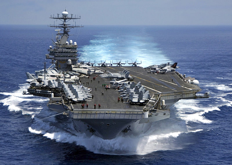 The USS Carl Vinson (U.S. Navy Photo)