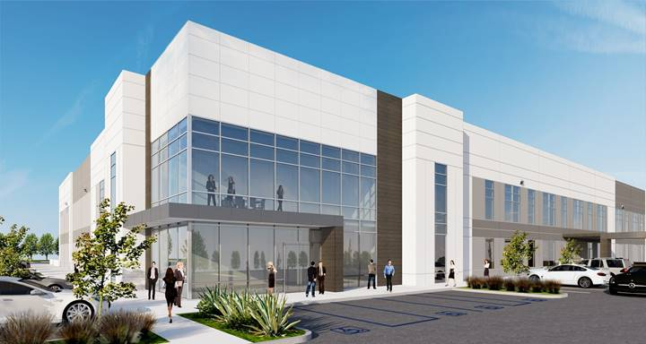 Rendering of Carlsbad industrial and R&D center. (Courtesy of RAF Pacifica Group)