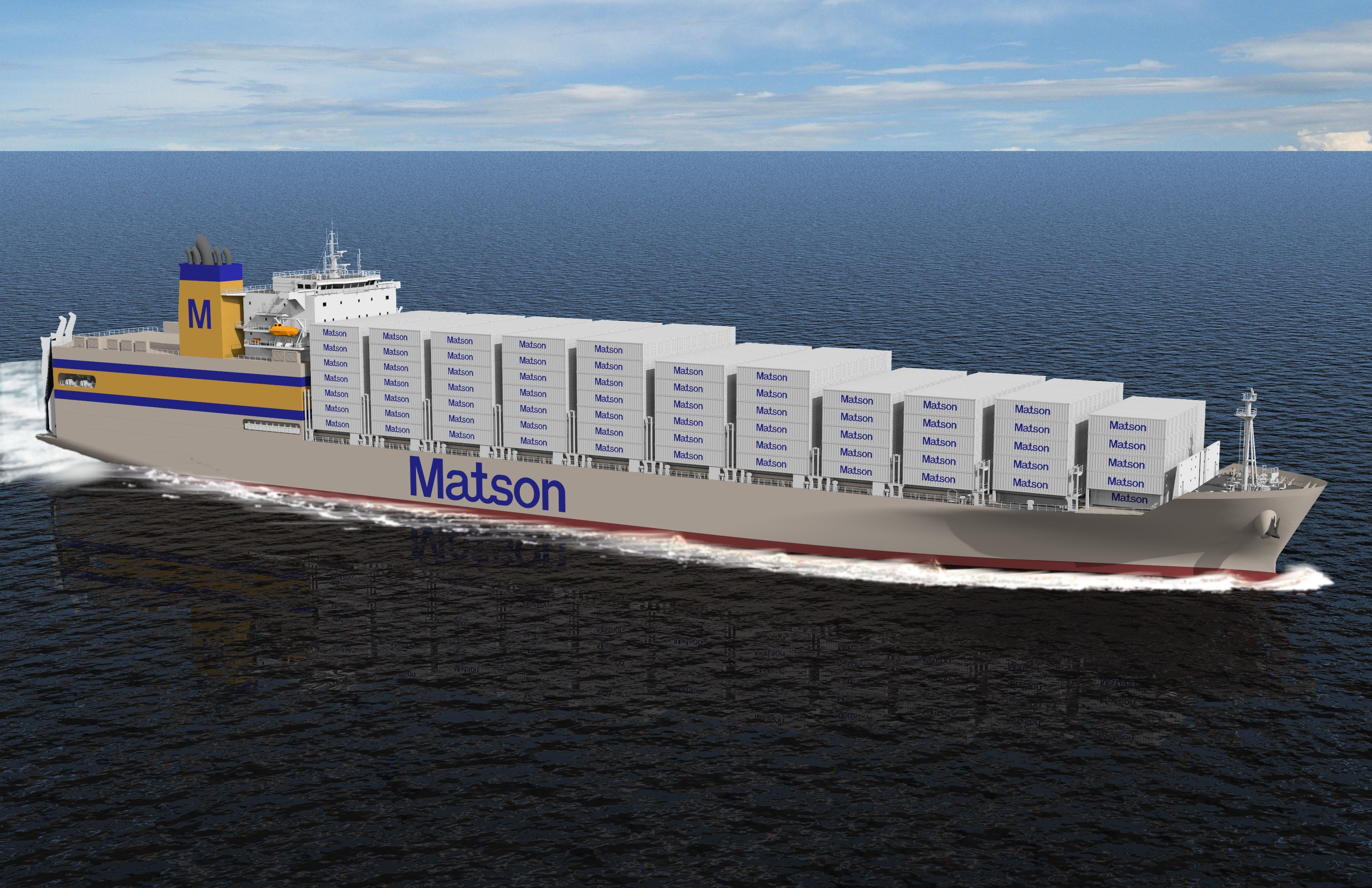 Containership rendering