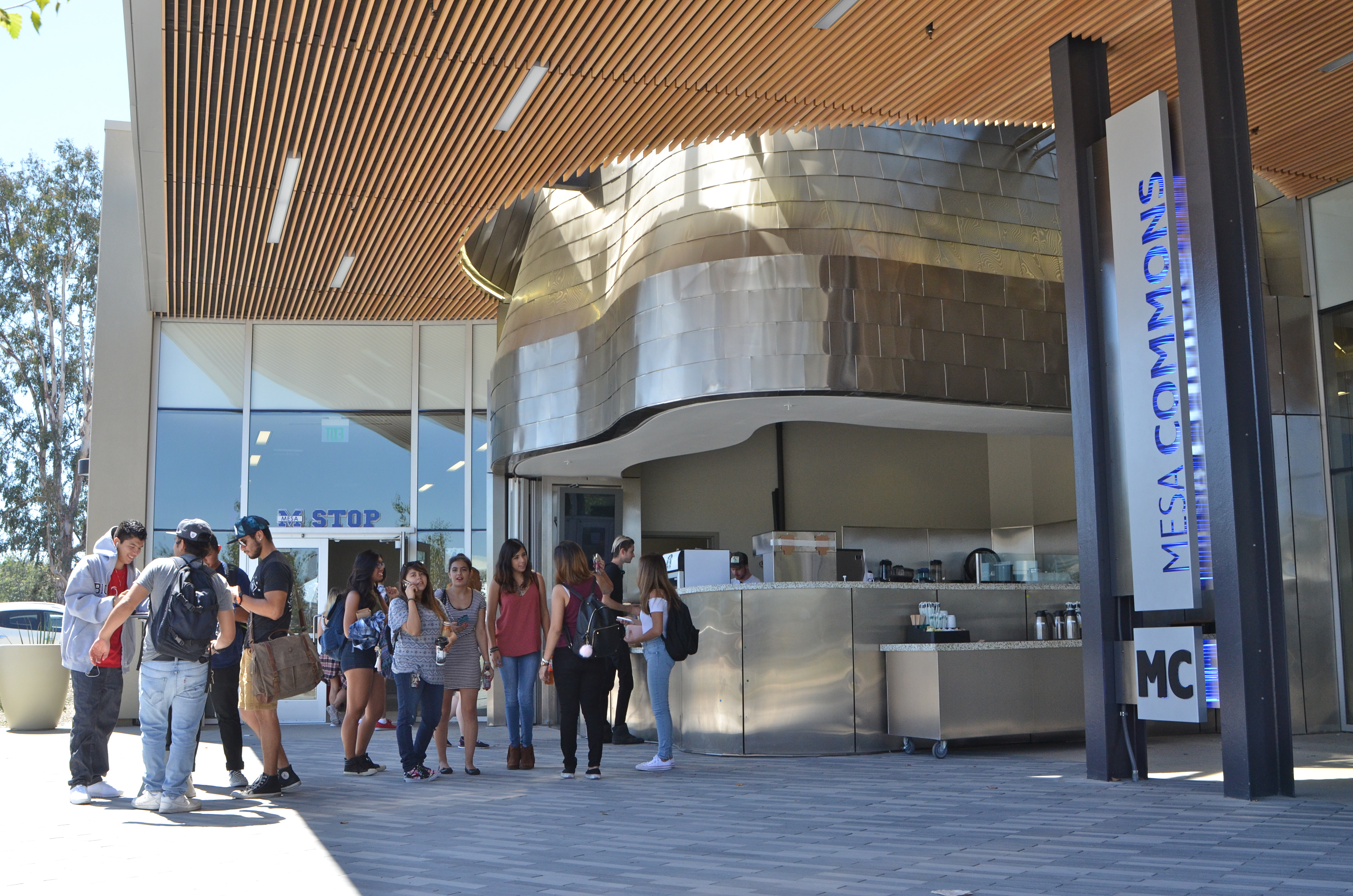 The new Mesa Commons at San Diego Mesa College