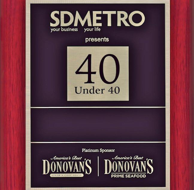40 Under 40 Awards — 2016