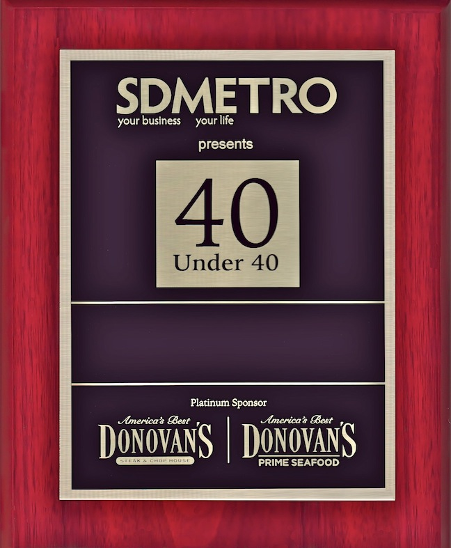 f5b927bb6bdd3 40 Under 40 Awards — 2016, San Diego Metro Magazine