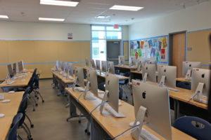A new classroom.