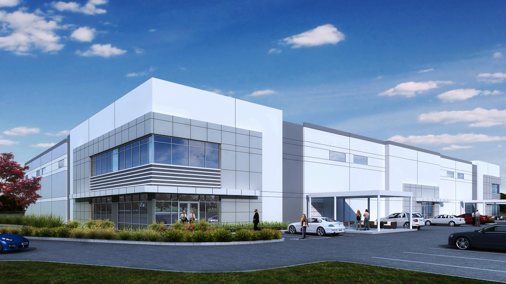 Rendering of the San Marcos industrial development.