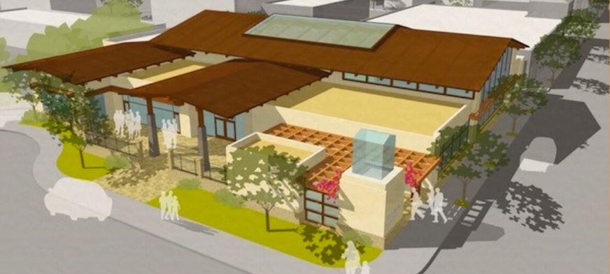 Mission Hills-Hillcrest Public Library rendering
