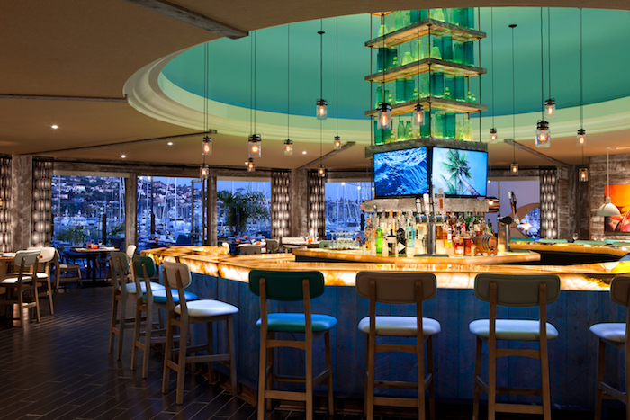 The chic waterfront restaurant — Vessel — is as fine as you'll find in San Diego.