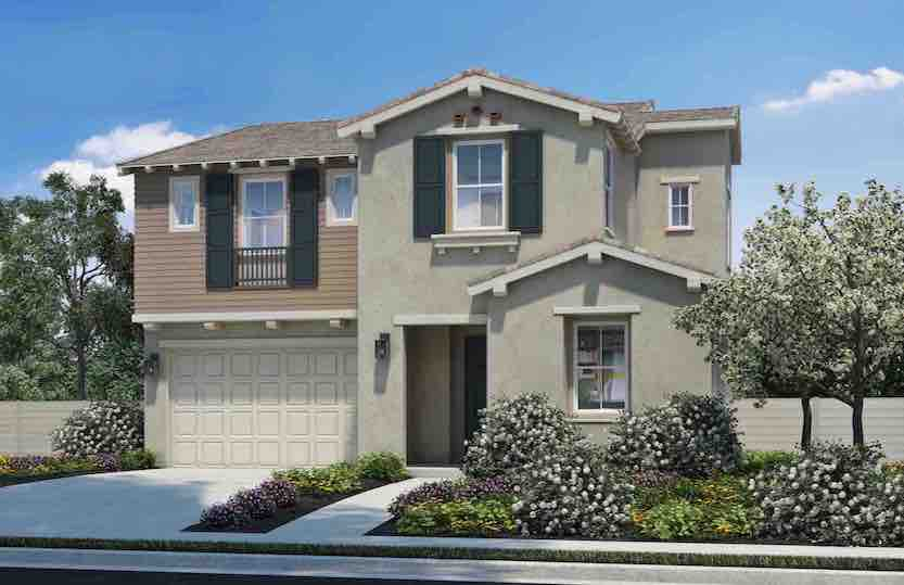 Westerly will offer three floor plans featuring four to five bedrooms and three to 4.5 baths .