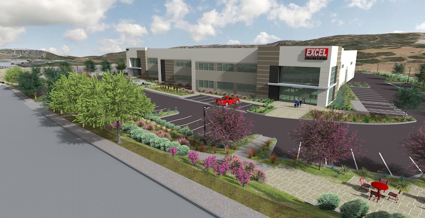 Rendering of the Carlsbad Victory Industrial Park.