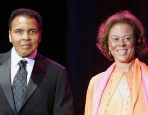 Muhammad Ali and Lonnie Ali