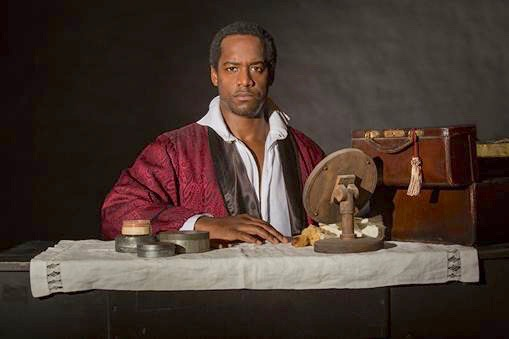 Albert Jones appears as Ira Aldridge in Lolita Chakrabarti's 'Red Velvet,' running March 25-April 30 at The Old Globe. (Photo by Jim Cox)